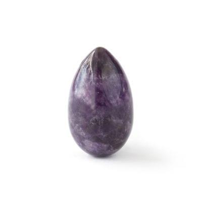 Yoni Ei aus Amethyst in der Grösse M