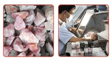 Production process of Yoni Eggs and other crystal products